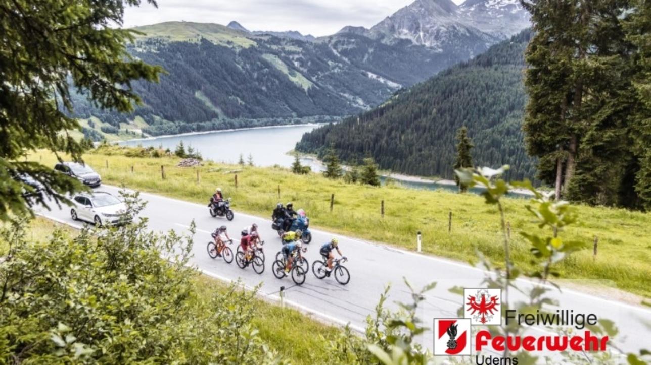 11.07.2019, Kitzbühel, AUT, Ö-Tour, Österreich Radrundfahrt, 5. Etappe, von Radstadt nach Fuscher Törl (103,5 km), im Bild Spitzengruppe auf der Gerlospass Straße // Spitzengruppe auf der Gerlospass Straße during 5th stage from Bruck an der Glocknerstraße to Kitzbühel (161,9 km) of the 2019 Tour of Austria. Kitzbühel, Austria on 2019/07/11. EXPA Pictures © 2019, PhotoCredit: EXPA/ JFK